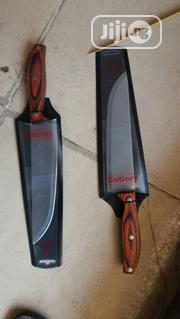 Quality Industrial Made Wooden Double Kitchen Knives | Kitchen & Dining for sale in Lagos State, Lagos Island