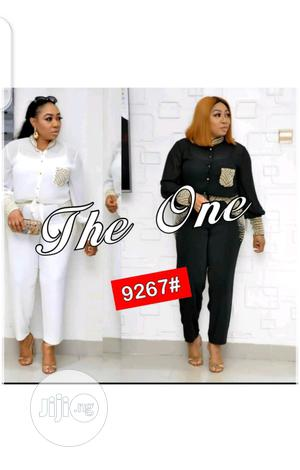 Female Formal Chiffon Shirt and Trouser | Clothing for sale in Lagos State, Ikeja
