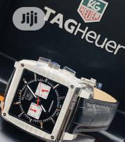 Tag Heuer Leather Men'S Wrist Watch | Watches for sale in Lagos State, Ikeja