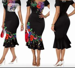 Black Body Hug Dress   Clothing for sale in Rivers State, Port-Harcourt