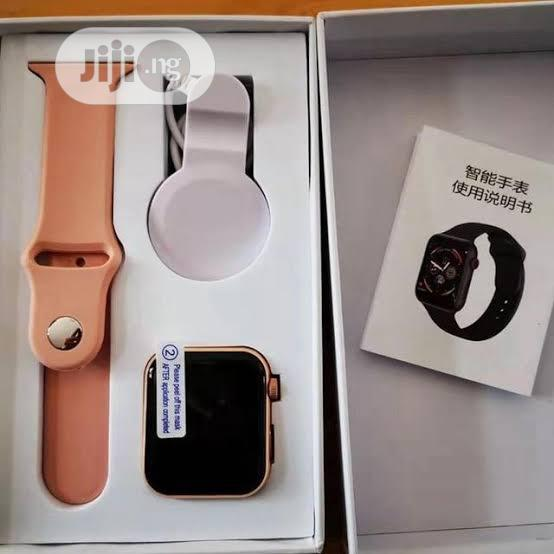 Water Proof Healt Monitor Smart Watch For Ios And Android | Smart Watches & Trackers for sale in Ikeja, Lagos State, Nigeria