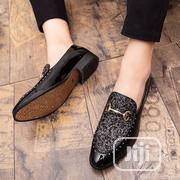 Men's Dress Shoes Custom Rhinestone Business Loafers | Shoes for sale in Lagos State, Ikeja
