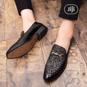 Men's Dress Shoes Custom Rhinestone Business Loafers   Shoes for sale in Lagos State, Ikeja