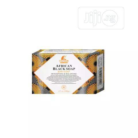 ROUSHUN African Black Soap (Wholesale Price [MOQ = 10pcs])   Bath & Body for sale in Surulere, Lagos State, Nigeria