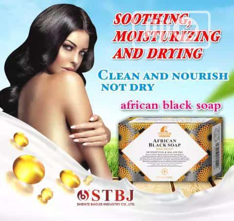 ROUSHUN African Black Soap (Wholesale Price [MOQ = 10pcs])