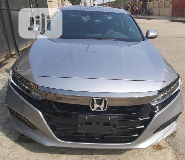 Honda Accord 2019 Silver