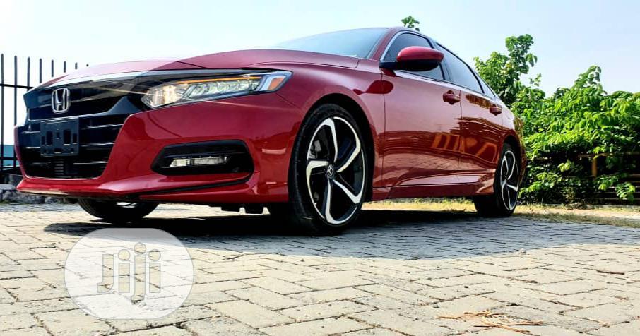 Honda Accord Touring 2018 Red