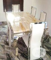 This Is Brand New Quality Six Seaters Dining Table It Is Very Strong.   Furniture for sale in Lagos State, Maryland