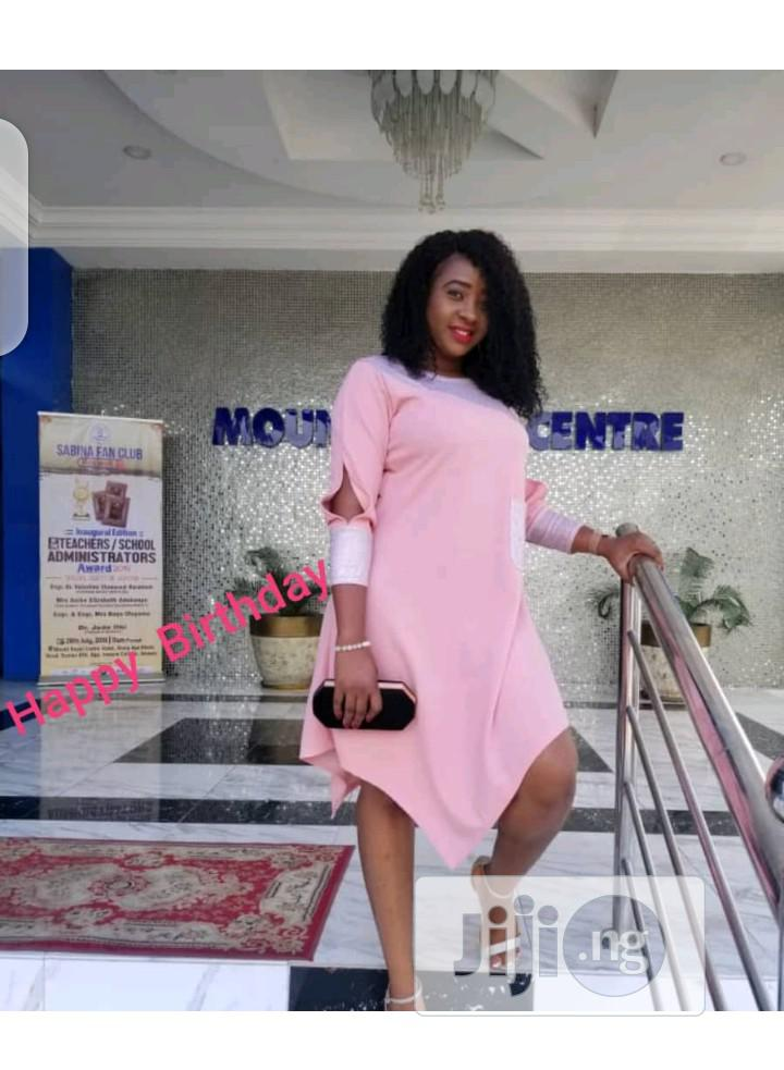 Ladies Casual Uneven Edge Dress   Clothing for sale in Ikeja, Lagos State, Nigeria