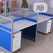 Exotic Blue Office Workstation Table | Furniture for sale in Lagos State, Amuwo-Odofin