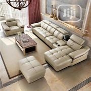 L Shape Leather Sofa Chair   Furniture for sale in Lagos State, Ojo