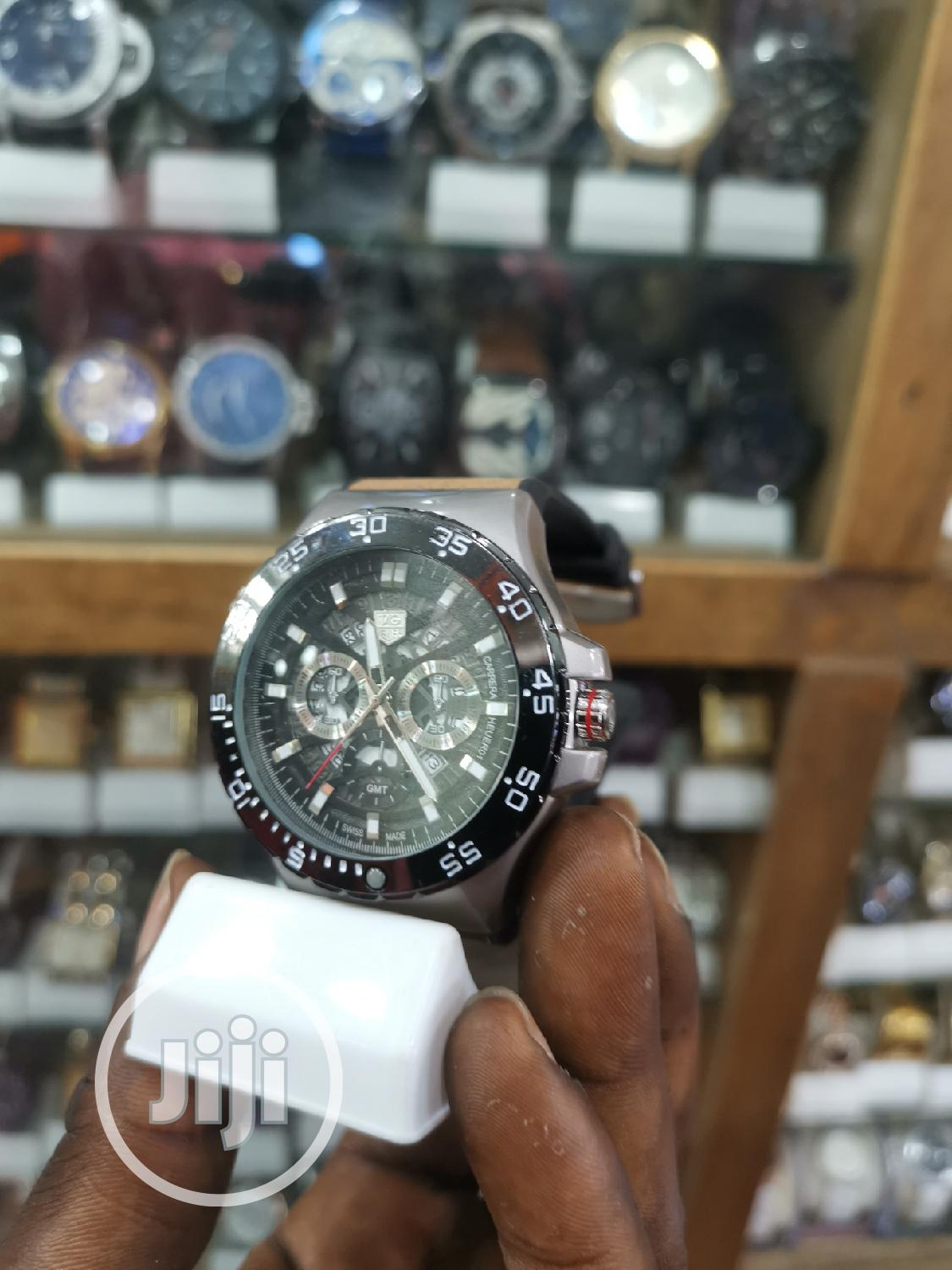 TAG HEUER Men's Classic Wristwatch | Watches for sale in Ikeja, Lagos State, Nigeria