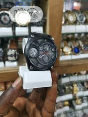 Diesel Black Chronograph Wristwatch | Watches for sale in Lagos State, Ikeja
