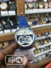 Montblanc Blue Leather Strap For Men | Watches for sale in Lagos State, Ikeja