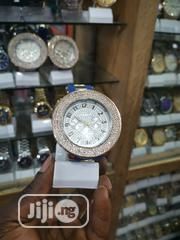 Geneva Blue Strap Crystal Ladies Wristwatch | Watches for sale in Lagos State, Ikeja