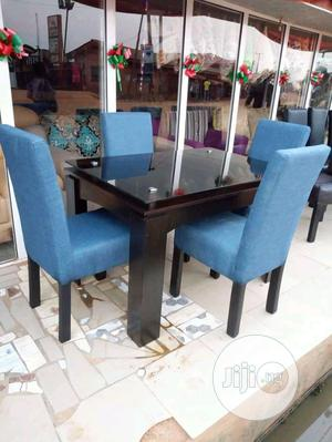 Dinning Table With Glass Table | Furniture for sale in Lagos State, Ikeja