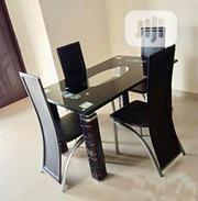 Quality Glass Dining Table by 4 | Furniture for sale in Lagos State, Oshodi-Isolo
