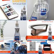 250ml Sanitizer/Disinfectant Spray | Skin Care for sale in Lagos State, Lekki Phase 2