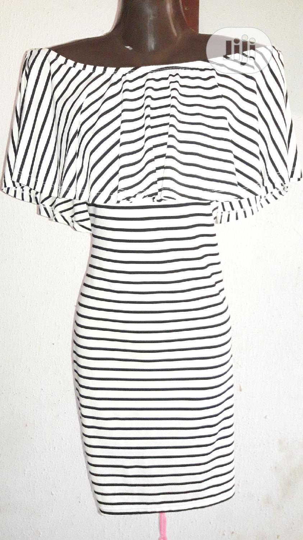 Monochrome Mini Press With Cape | Clothing for sale in Ikotun/Igando, Lagos State, Nigeria