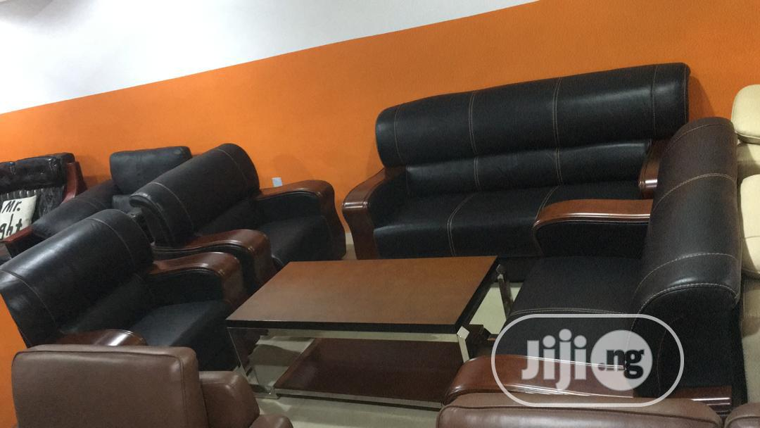 Imported Leather Sofa