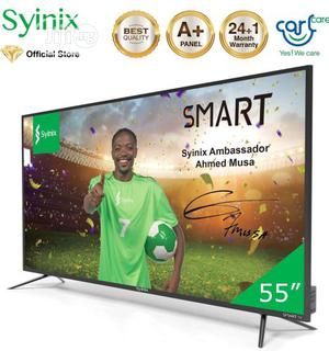 """Syinix 55"""" Inch Android 4K UHD Smart - T710U Series- Black