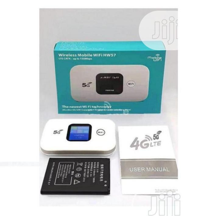 5G, 4G, 3G Wireless Mobile Wifi. Hw57