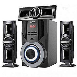 Djack DJ-1003 3.1CH Bluetooth Home Speakers System Djack | Audio & Music Equipment for sale in Abuja (FCT) State, Jahi