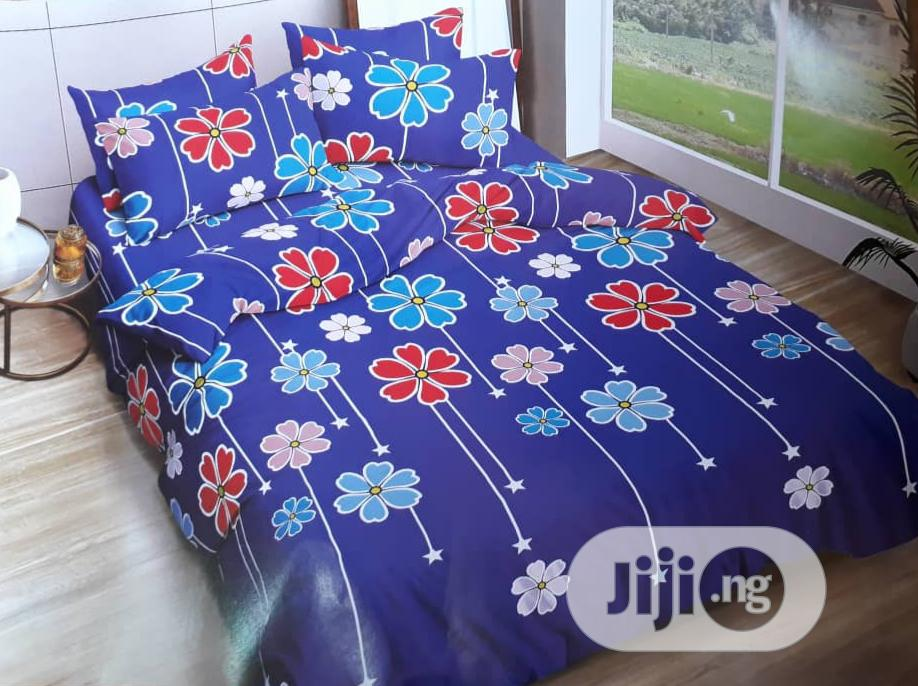 Colorful Duvet, Bedsheet With 4 Pillow Cases-7*7