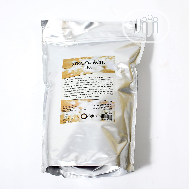 Organic Stearic Acid Wax (Per Kg) | Skin Care for sale in Ikeja, Lagos State, Nigeria