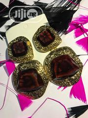Natural Ruby Gemstone Drop Earring | Jewelry for sale in Lagos State, Gbagada