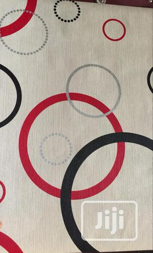White Multi Coloured Ring Pattern 3D Wallpaper | Home Accessories for sale in Lagos State, Agege