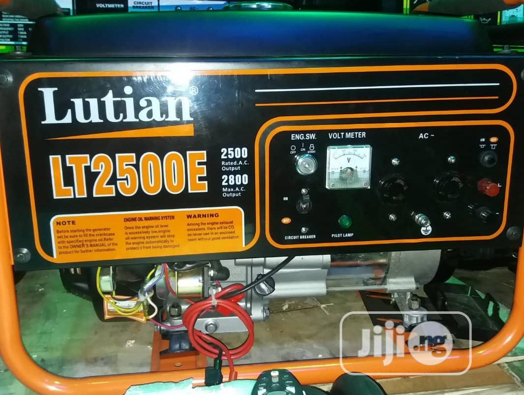 Original LUTIAN LT2500E Generator