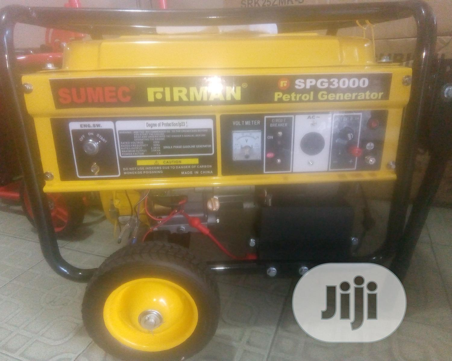 A Brand New 2.8kva Firman Generator Key Tyres Is for Sale