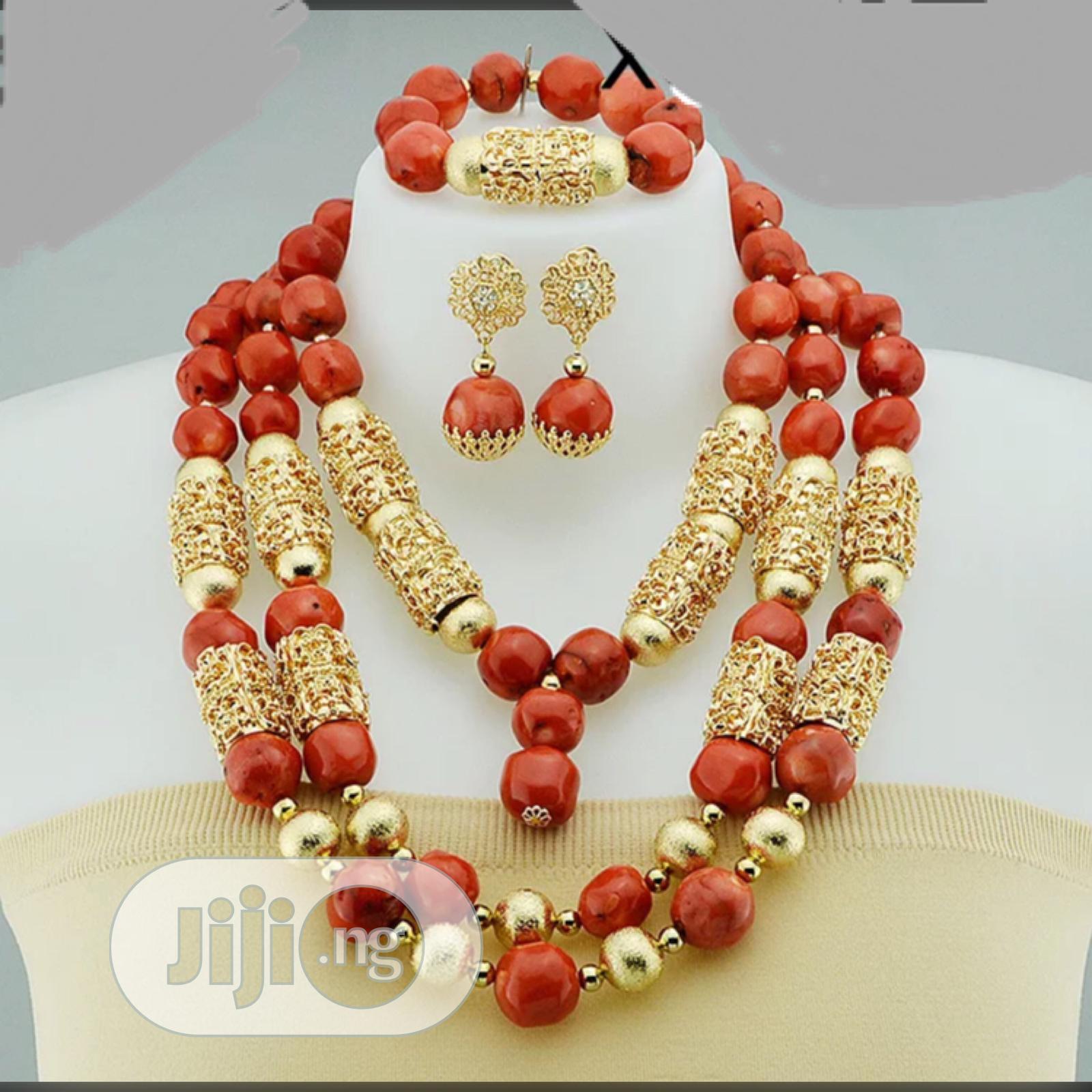 Original Luxury Coral Bead