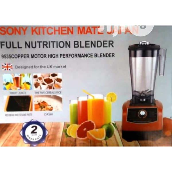 Sony Kitchen Mate Japan Commercial Blender - 3L