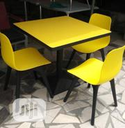 Four Seater Restaurant Table and Chair Brand New Imported | Furniture for sale in Lagos State, Ikoyi