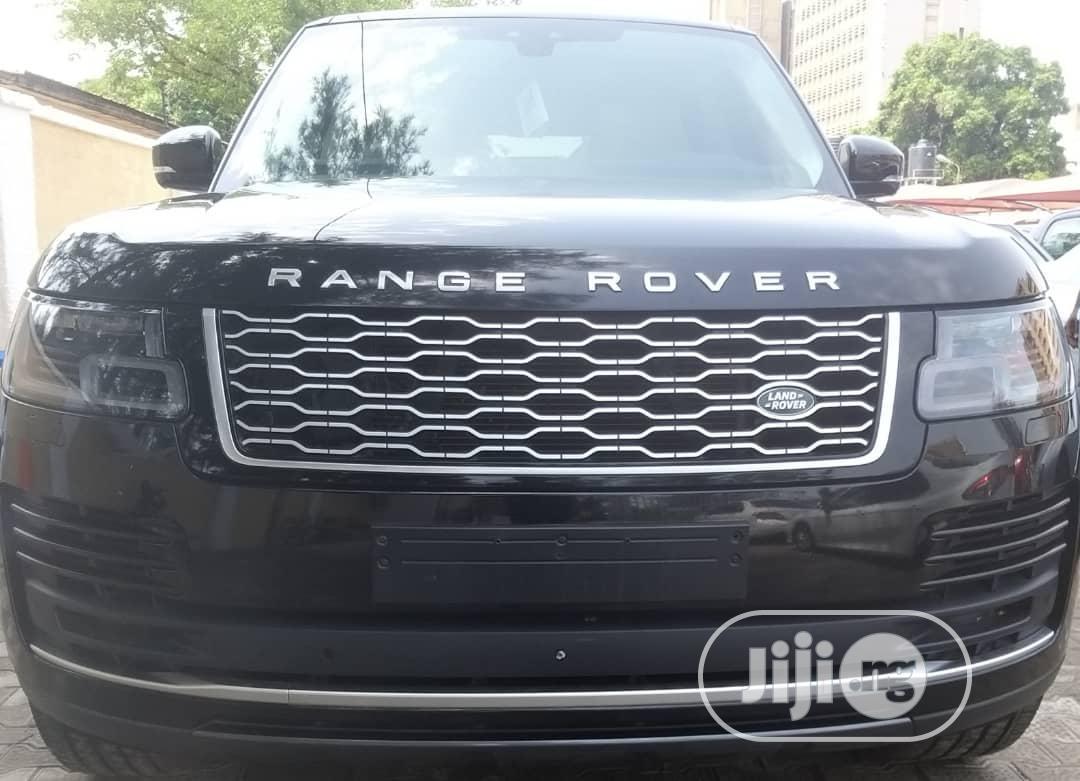 New Land Rover Range Rover Vogue 2018 Black