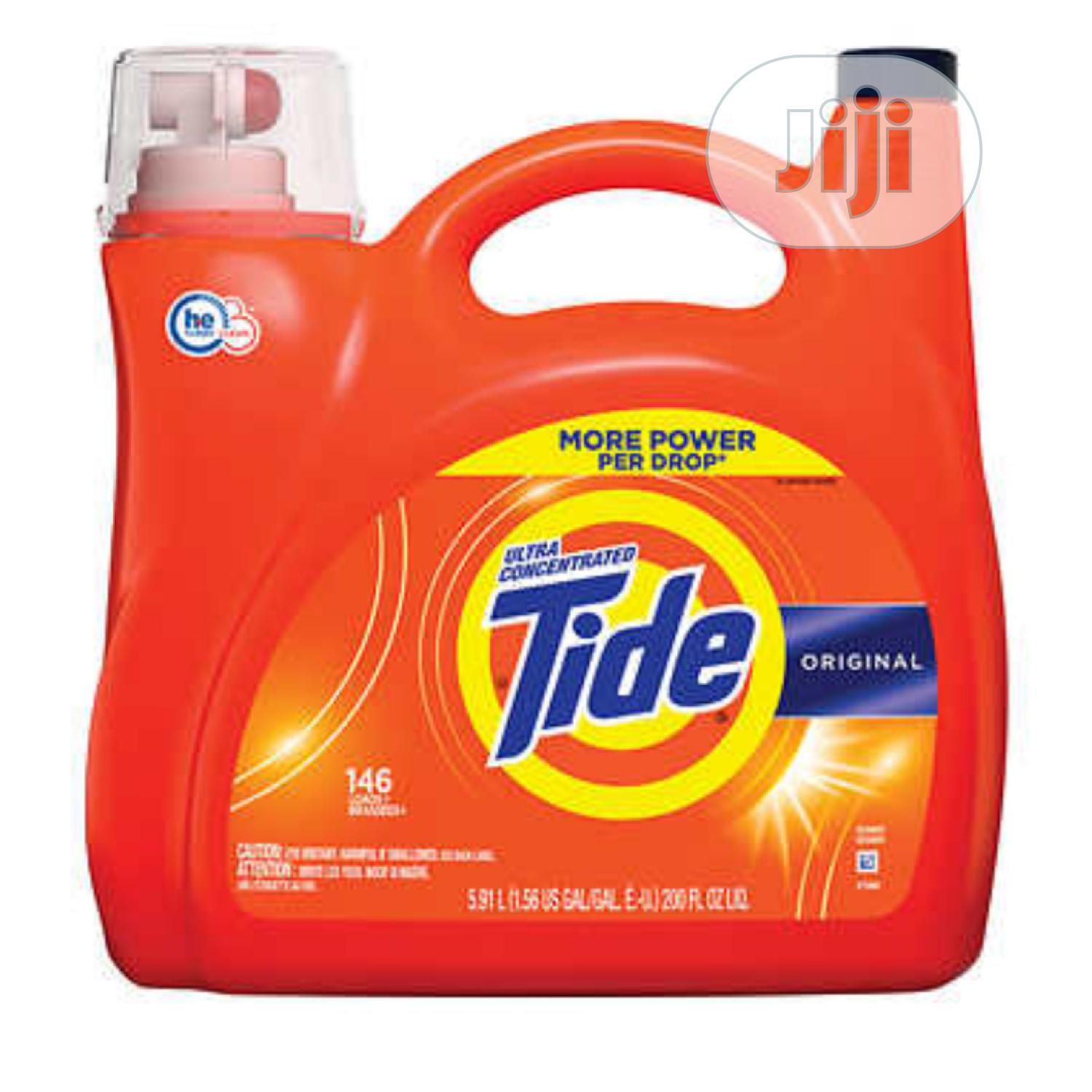 Archive: Tide He Original Liquid Wash/ Detergent (146loads)