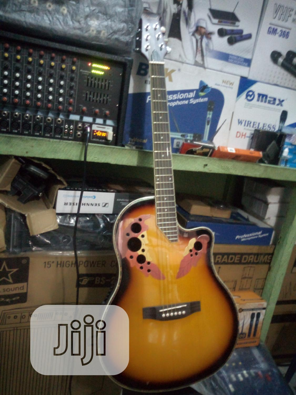 Semi-accostic Guiter And Electric Guiter   Musical Instruments & Gear for sale in Port-Harcourt, Rivers State, Nigeria
