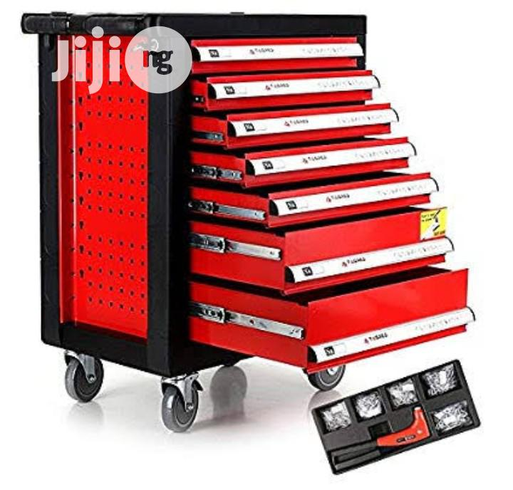 7 Drawer Mobile Workshop Trolley Toolbox