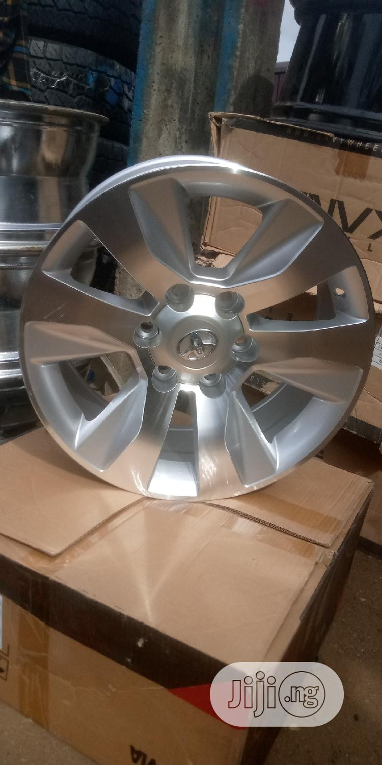 17 Rim For Toyota Hilux, Toyota Tacoma And Toyota Land Cruiser.