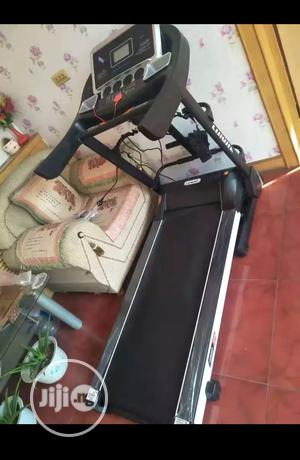German 3HP Treadmill Machine With Incline, Dumbbells Mp3 Massager   Sports Equipment for sale in Imo State, Owerri