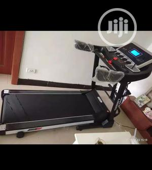 German 3HP Treadmill Machine With Incline, Dumbbells Mp3 Massager   Sports Equipment for sale in Imo State, Okigwe
