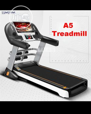 German 5HP Treadmill Machine With Incline, Dumbbells Mp3 Massager   Sports Equipment for sale in Delta State, Warri