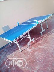Qualitytechnofitness Outdoor Table Tennis Board With 4 Bat and 6 Balls | Sports Equipment for sale in Lagos State, Surulere