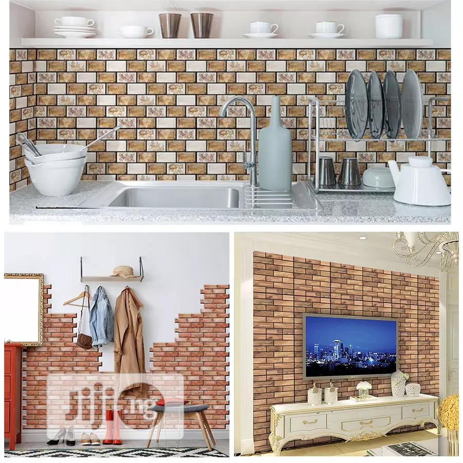 Adhesive Wall Stickers/Wallpapers | Home Accessories for sale in Ikeja, Lagos State, Nigeria