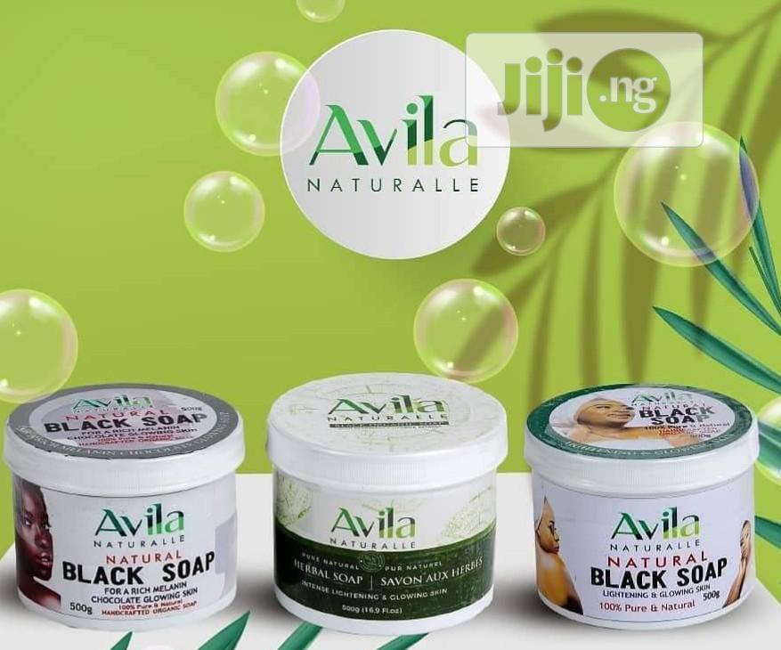 Avila Naturalle Organic Black Soaps | Bath & Body for sale in Isolo, Lagos State, Nigeria