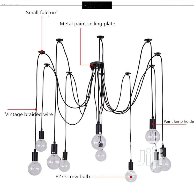 Vintage Styled Spider Chandelier | Home Accessories for sale in Lagos Island, Lagos State, Nigeria