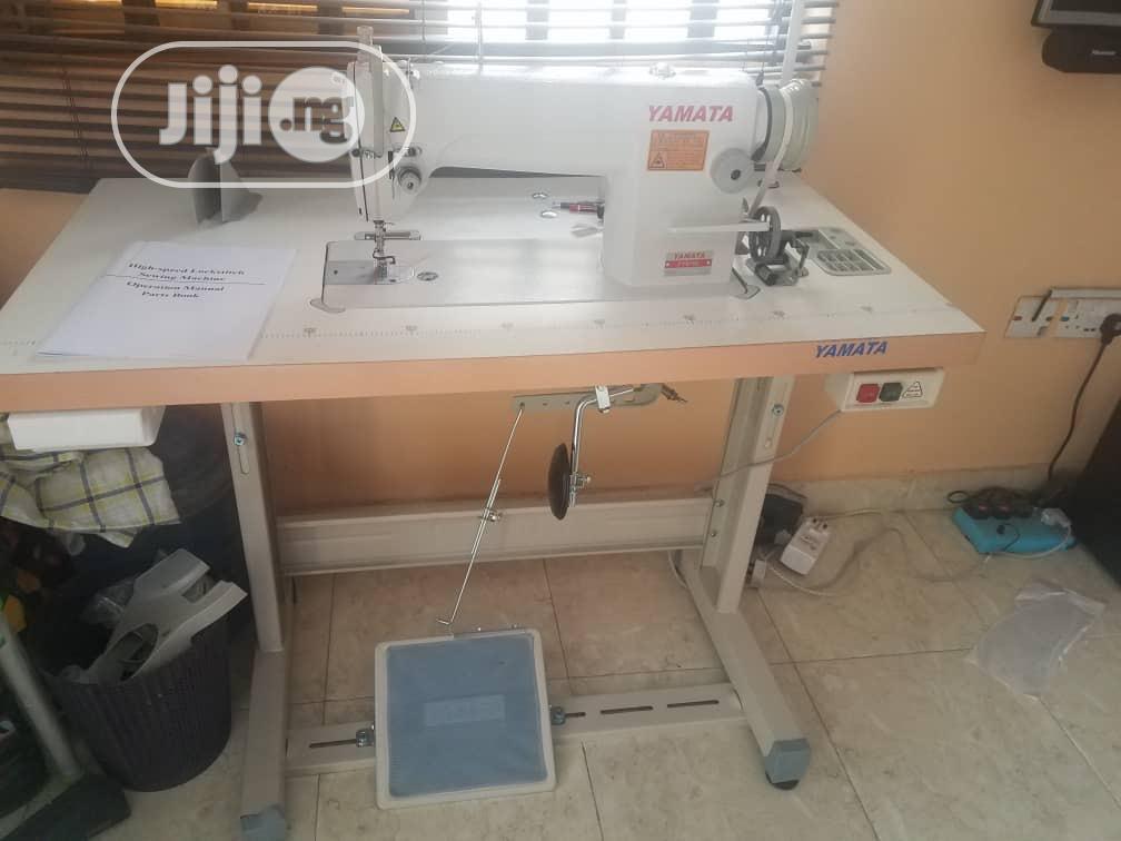 Yamata Industrial Straight Sewing Machine
