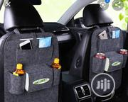 Car Seat Organizer Pockets (Grey PU Fabric) | Vehicle Parts & Accessories for sale in Lagos State, Ikeja